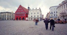 Marktplatz in Greifswald