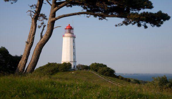 Der Leuchtturm Hiddensee