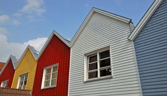 Bunte Häuser in Eckernförde