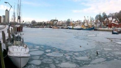 Hafen in Eckernförde
