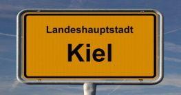 Ortsschild von Kiel
