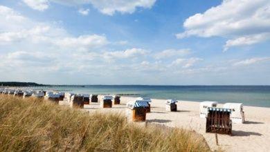 Strandkörbe am Timmendorfer Strand