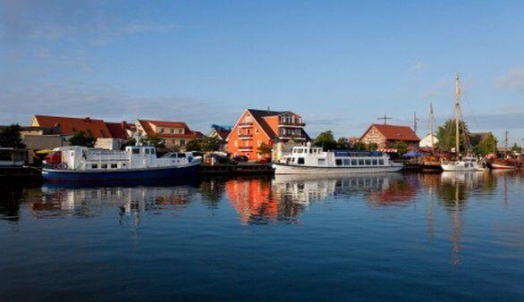Hafen in Wolgast