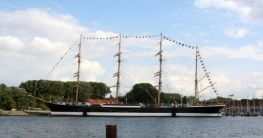 Segelschiff in Travemünde